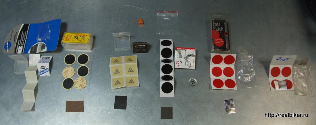 Тест самоклеющихся заплаток для велокамер 2011-05-glueless_self_adhesive_patches-1-members-of-test