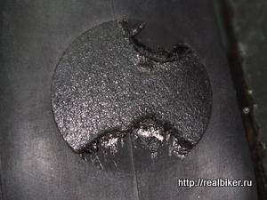 Тест самоклеющихся заплаток для велокамер DSCF0477