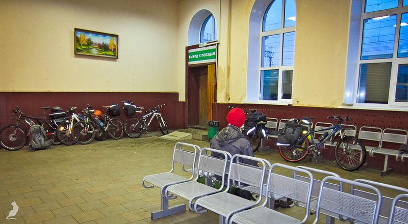 Вокзал в Луховицах